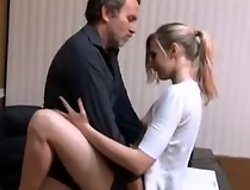 Small confidential babe quickie fuck with daddy