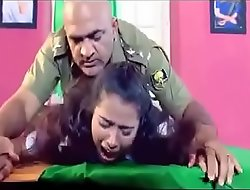 Army functionary is forcing a lady to fixed sex in his cabinet