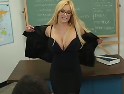 Professor Shyla discussing my substandard performance