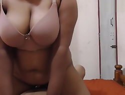 Indian Big Boobs Neighbours Wife Riding Exceeding Me, Blowjob, Cumshot
