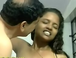 prudish indian legal age teenager screwed off out of one's mind older man