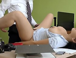 LOAN4K. Burnish apply hottest Alex Black with a horny manager