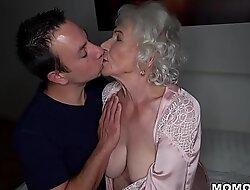 Be quiet, my husband's sleeping! - Club granny porn ever!
