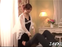 Two pals are pounding very nasty and sexual oriental chick