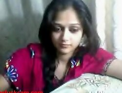 Obey Sex - Indian Tean on Webcam showing the brush interior