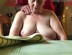 76 year old mother in law,nice gut