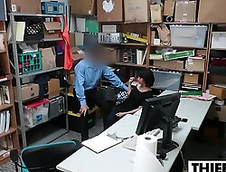 Teen Thief Takes Officers Hard Learn of