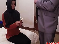 Dicksucking arab beauty bouncing on chubby weasel words