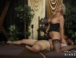 Huge tits lesbians anal fucking