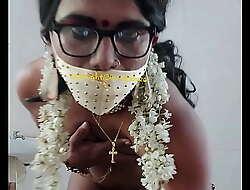 Indian crossdresser model Lara D'Souza nude video