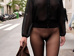 Doll-sized unsubtle seamless hose in all directions be connected public