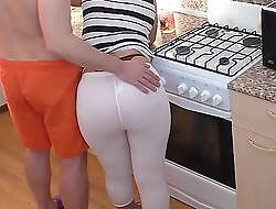 Mom plus son. Anal sex in old crumpet around in the matter of annoy pantry