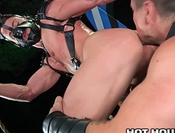 Fetish Daddy Trenton Ducati Rough Fucks His Puppy